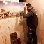 Ankarada fayans ustası Selman Doğan Usta
