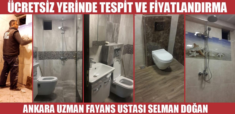 Ankarada fayans ustası Selman Usta