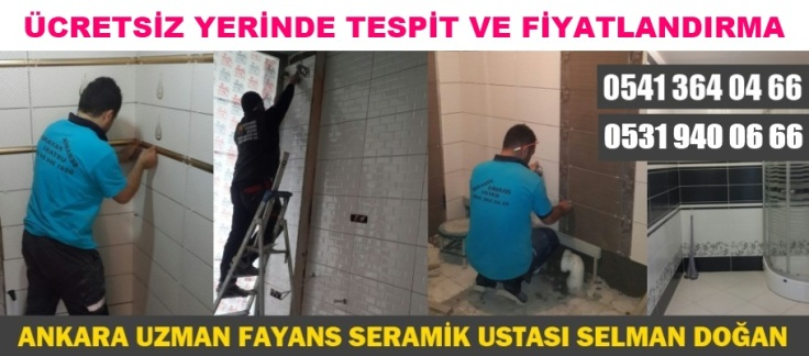 Fayans, Fayans Ustası, Fayans Ustaları, Ankara